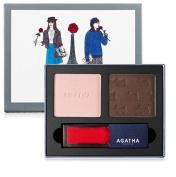 Agatha Paris French Look Book #3 Très Jolie Eye Shadow & Lip Gloss