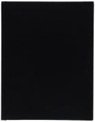 BLUELINE EcoLogix Notebook, Black, 23cm x 18cm 150 Pages