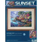 Dimensions Needlecrafts Needlepoint, Cottage Cove