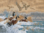 Dimensions Needlecrafts Counted Cross Stitch, Winter Retreat