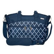 JJ Cole Camber Nappy Bag - Navy Arbour