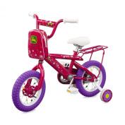 John Deere 30cm Bicycle Pink