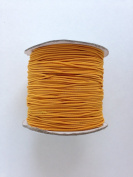 Yellow Orange Elastic Stretch Shock Cord 2mm 43 yards spool roll