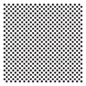 Pattern Stencil - 0.3cm Cheques - 15cm x 15cm