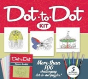 Dot-to-Dot Kit with More than 100 Challenging Puzzles