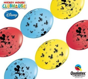 Mickey Mouse Qualatex 30cm Quick Link Balloons x 50