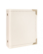American Crafts We R Memory Keepers Instax Albums with 10 Photo Sleeve, 5.3cm x 8.6cm , White