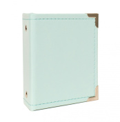 American Crafts We R Memory Keepers Instax Albums with 10 Photo Sleeve, 5.3cm x 8.6cm , Mint