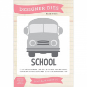 Echo Park Paper Company School Bus Die Set