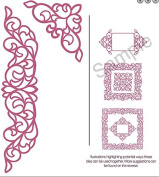 Sue Wilson Dies - The Configuration Collection - Elegant Lace Edger - CED6401