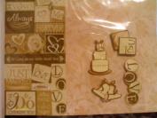 The Paper Studio 12x12 Wedding Page Kit