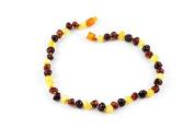 Healing Hazel 100% Balticamber Baby Necklace, Multi Polished, 27cm