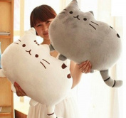 Kawaii Kids Toys Stuffed Animal Doll Peluches Anime Plush Toys Pusheen Cat Pillow