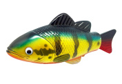 Realistic Swimming Fish Peacock Bass Water Toy 20cm