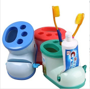 Creative Multifunctional Boots Toothbrush Holder with Toothpaste Squeezer