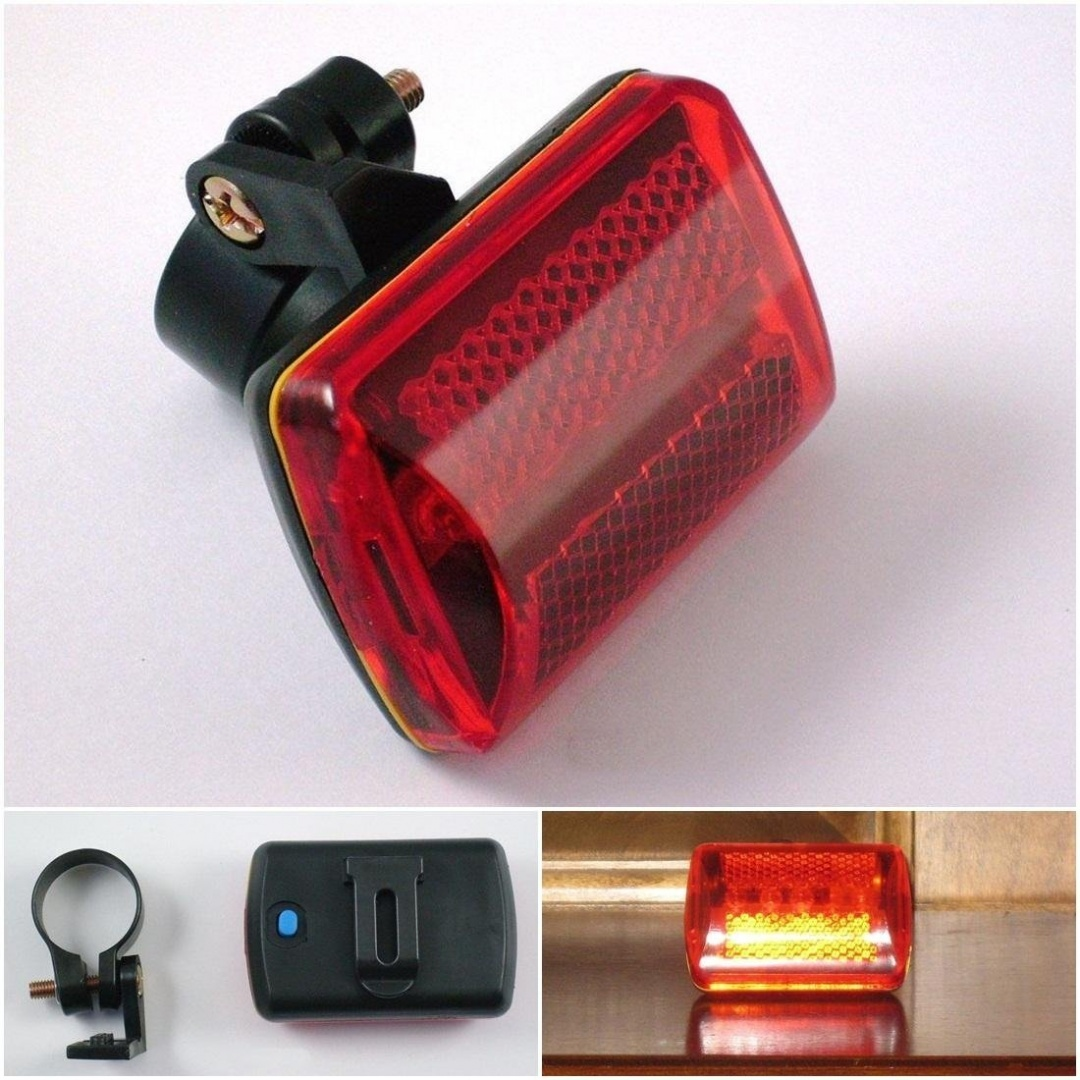 Superb 7 Modes Popular 5x Red Led Bike Light Bicycle Flashing Tail Patterns Cycling Flasher With Belt Clip By Grandsiri Shop Online For Baby In Australia