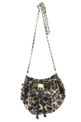 Olivia And Joy New Black Shelby Drawstring Crossbody Bag OSFA $72 DBFL