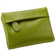 Mantos Eternity 100% Soft Genuine Leather Fashion Clutch Organiser Purse Card Case Evening Zippered Wallet for Women