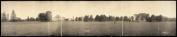 c1907 I.S.C. Campus, Ames, Ia. 110cm Vintage Panorama photo