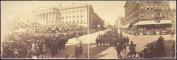 c1902 No.of G.A.R. at Washington 60cm Vintage Panorama photo #3