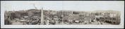 c1910 Pack Square from Legal Building, Asheville, N.C. 90cm Vintage Panorama phot