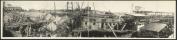 1911 Wreck, U.S.S. Maine, Nov. 1911 90cm Vintage Panorama photo