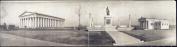 c1909 The Parthenon, Nashville, Tenn. 80cm Vintage Panorama photo