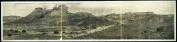 c1908 Petrified Forest of Arizona 90cm Vintage Panorama photo #2