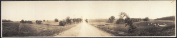 c1909 Farm and city life 110cm Vintage Panorama photo