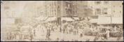 c1902 The ghetto, midsummer 60cm Vintage Panorama photo