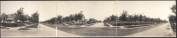 c1909 Armour Blvd. and Holmes St., Kansas City, Mo. 110cm Vintage Panorama photo