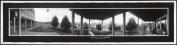 c1912 Grand View, veranda 80cm Vintage Panorama photo
