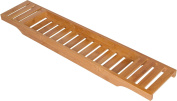 Bamboo Large 70cm Long Slatted Bathtub Tray - By Trademark Innovations