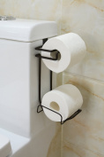 Bathsense Over The Tank Toiler Paper Holder And Dispenser Combination, Oil Rubbed Bronze