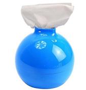 SFamily Blue Fashion Cute Bomb-shaped Tissue Box Cover Toilet Paper Pot Holder Case