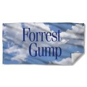 Forrest Gump - Feather Beach Towel