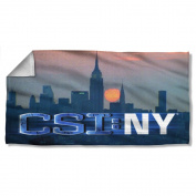 Csi:new York - City Logo Beach Towel