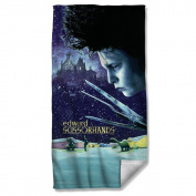Edward Scissorhands - Movie Poster Beach Towel