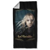 Les Miserables - Girl Beach Towel
