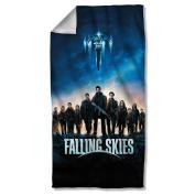 Falling Skies - Poster Beach Towel