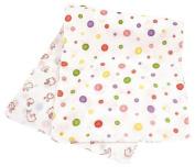 Japanese Hand Towel Polka Dots & rabbit 90cm X 34cm Cool Kimono Design Print