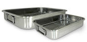 Cook Pro 561 4-Piece All-in-1 Lasagna and Roasting Pan New