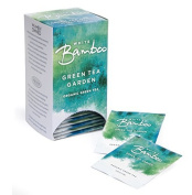 Organic Green Tea Garden, 25 Tea Bags White Bamboo Tea