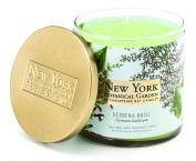 Chesapeake Bay Candle New York Botanical Garden Decorative 2-Wick Jar with Lid, Verbena Basil