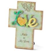Resin Tabletop Cross (Love)