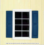 Handy Home Products Square Window Shutters, Small