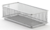 Design Ideas Mesh Drawer Store, Silver, 7.6cm by 15cm