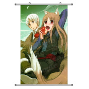 A Wide Variety of Spice & Wolf Anime Characters Wall Scroll Hanging Decor (Kraft