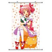 A Wide Variety of Puella Magi Madoka Magica Anime Characters Wall Scroll Hanging Decor