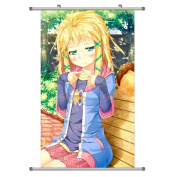 A Wide Variety of Black Bullet Anime Characters Wall Scroll Hanging Decor